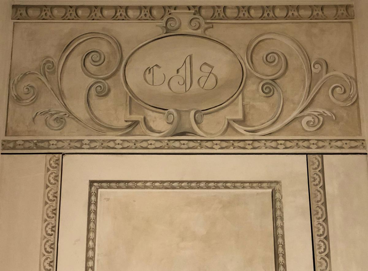 secret door detail